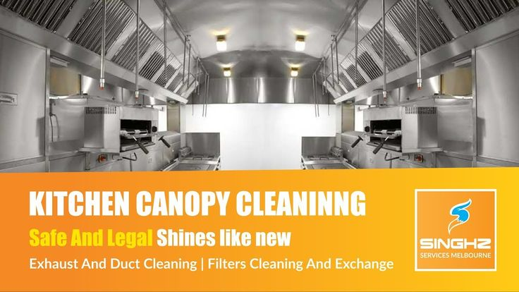 Singhz Kitchen Canopy Cleaning Services Melbourne We clean your kitchen exhaust and duct system from head to toe.  Checkout this video or learn more from our website. http://singhzservicesmelbourne.com.au/canopy-cleaning/ #CanopyCleaning #KitchenCleaning