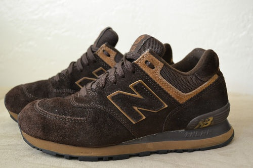new balance 574 brown