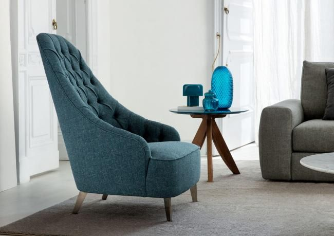 LIVING   You can get your armchair Vanessa Capitonnè even custom made. Discover more!
