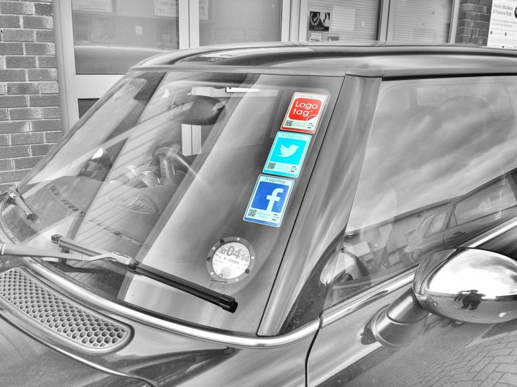 #Vantag in action. Making it easier for people to connect with you on social media. The next time you park up at an event make sure you've your Vantag's on show!