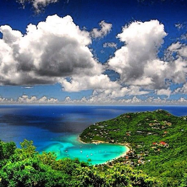 Cane Garden Bay - Tortola, British Virgin Islands. A really cool spot, especially on the days the cruise ships aren't in port.
