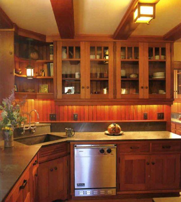Craftsman Style Kitchen Jpg