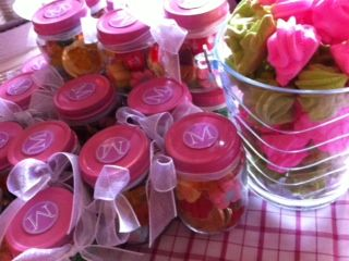 Recycled Baby Food Jars Favors Upcycled Party Do It