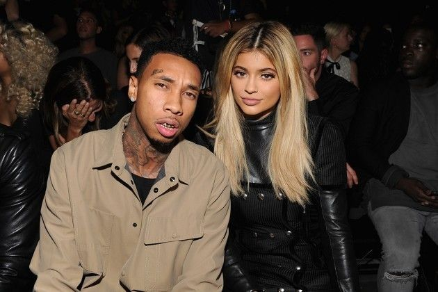 Tyga and Kylie Jenner Get Intimate at 2015 New York Fashion Week - Kylie Jenner Style