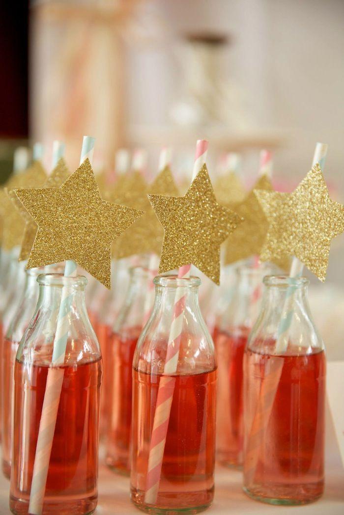 Festa Nas Estrelas! - enfeites de canudo.