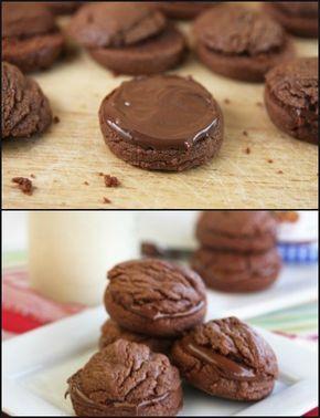 Γλυκές Τρέλες: ΜΠΙΣΚΟΤΑ ΜΕ 3 ΥΛΙΚΑ ΚΑΙ NUTELLA!!
