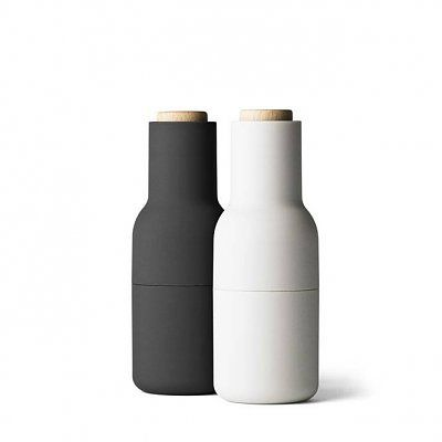 Menu New Norm Bottle Grinder - kleine pepermolens, set van 2