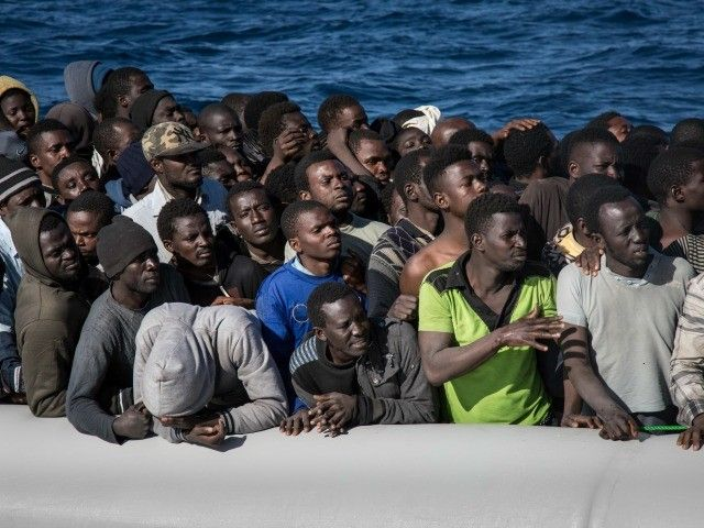 """Italy's migrant welcome centers are in a state of """"collapse"""" as huge waves of African migrants cross from Libya to the Italian peninsula."""