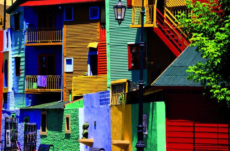 gekleurde huizen - Google zoeken