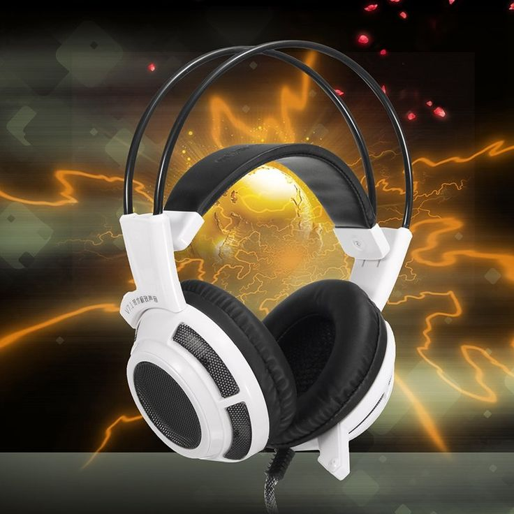V7.1 3.5mm Stereo LED Gaming Headphone Headset With Mic For Computer Apple Macbook Sale - Banggood.com