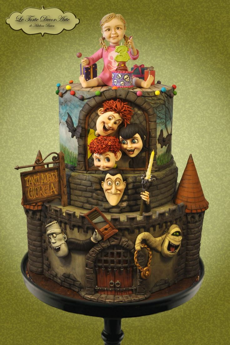 25 Best Ideas About Hotel Transylvania Cake On Pinterest