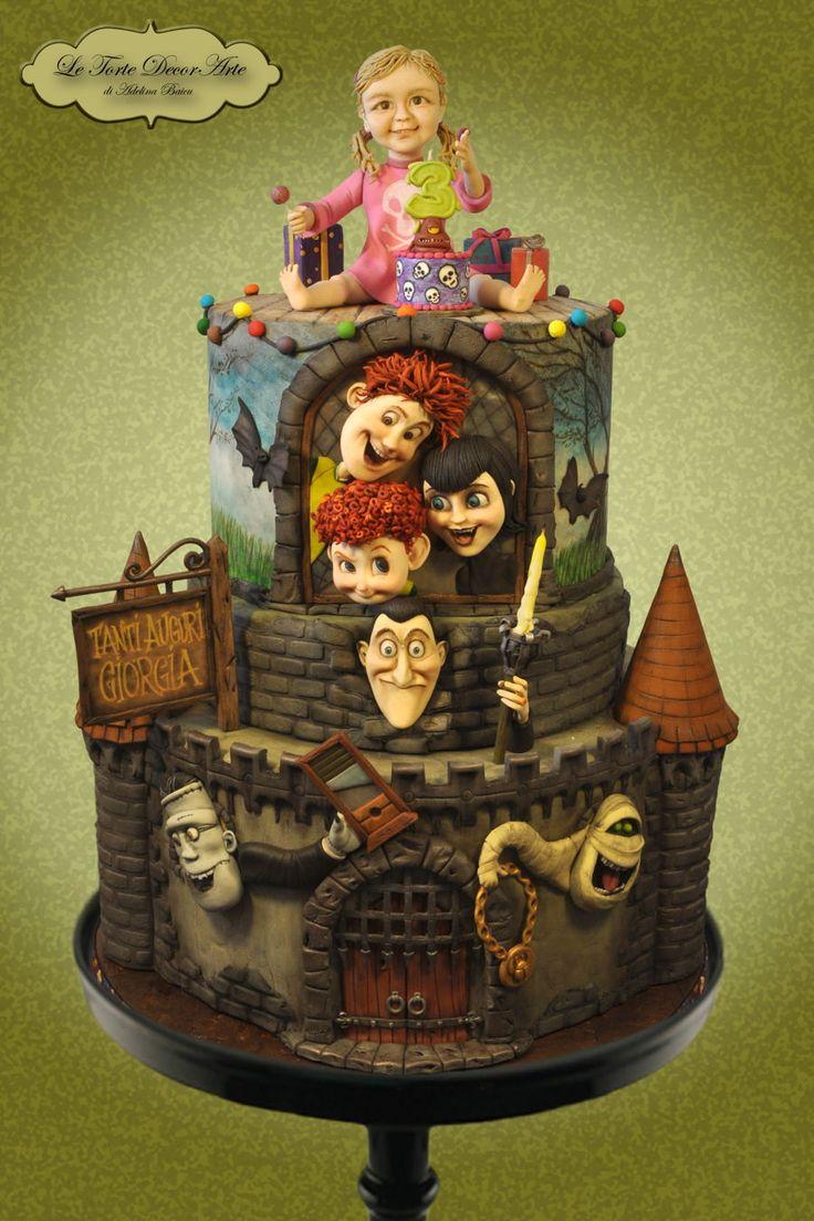 25 Best Ideas About Hotel Transylvania Cake On Pinterest