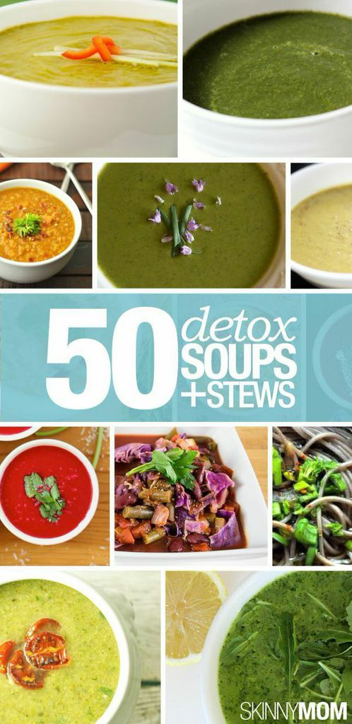 Clean out your system with a few of these detox soup recipes!