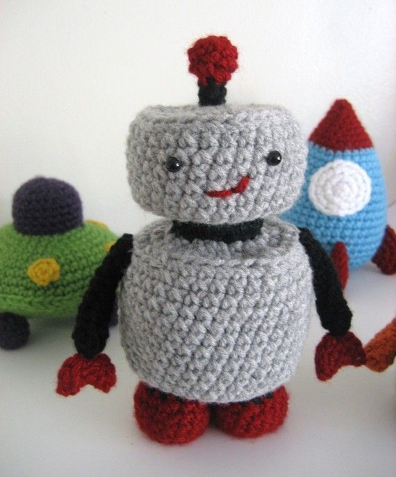 Free Amigurumi Robot Pattern : 12 best images about boys on Pinterest Perler beads ...