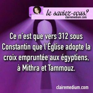 Le saviez-vous ? Croix de Jésus - Claire Thomas Medium - Magnetiseur - Vies anterieures - Paris 16