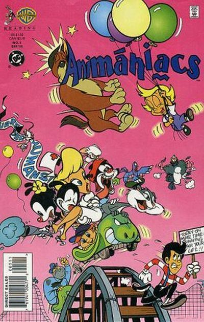 Meet the Animaniacs: Yakko (Rob Paulsen), Wakko (Jess Harnell) and Dot (Tress MacNeille) - the Warner Brothers (and Sister); Buttons the Dog (Frank Welker) and Mindy (Nancy Cartwright); Rita the Cat (Bernadette Peters) and Runt (also Welker); the Goodfeathers Bobby (John Mariano), Pesto (Chick Vennera) and Squit (Maurice LaMarche); lab mice Pinky (also Paulsen) and the Brain (also LaMarche); Slappy Squirrel (producer Sherri Stoner) and nephew Skippy (producer Tom Ruegger's son Nathan).