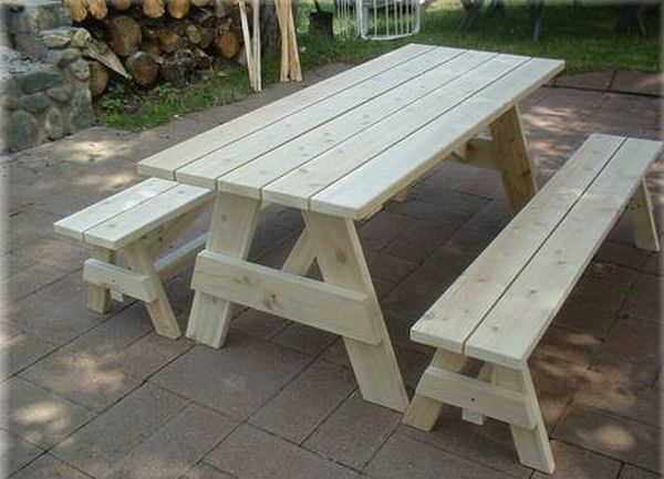 We Take Great Pride In The Construction Of Our Cedar Picnic Tables And  Guarantee Only The Best Lumber Is Used. Our Picnic Tables Are Hand Made  With Northern ... Part 70