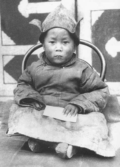 His Holiness, Tenzin Gyatso, The 14th Dalai Lama, Age 2 years in Amdo, TIbet. ☀