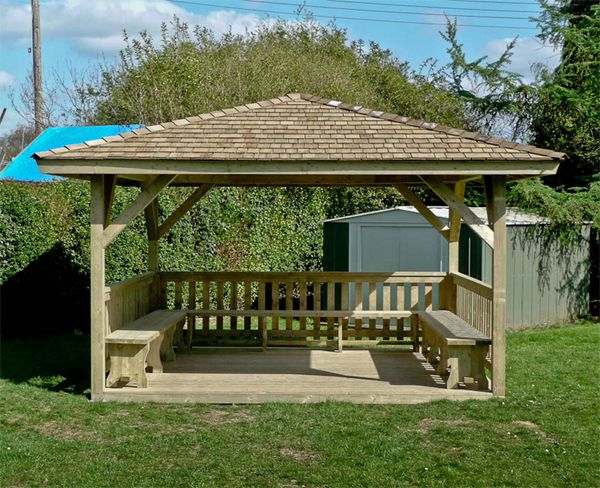 simple gazebo playground ideas pinterest