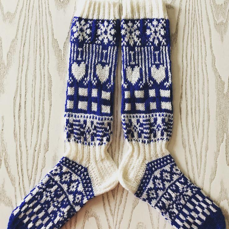 Suomi100 villasukat