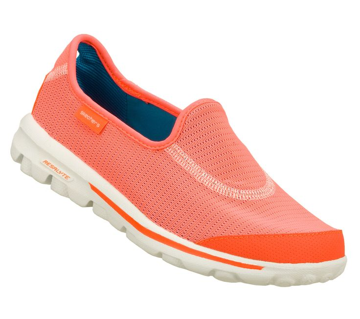 Got these for spring and summer, Coral love -Women's Skechers GOwalk -  Recovery