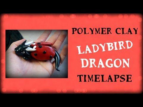 Polymer Clay Dragon Ladybug Speed Tutorial