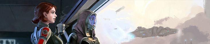 Mass Effect :: сообщество фанатов / красивые картинки и арты, гифки, прикольные комиксы, интересные статьи по теме.