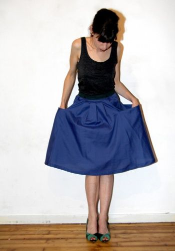 My big pocket skirt