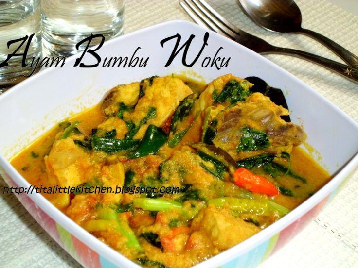 Tita's Little Kitchen: Ayam Bumbu Woku