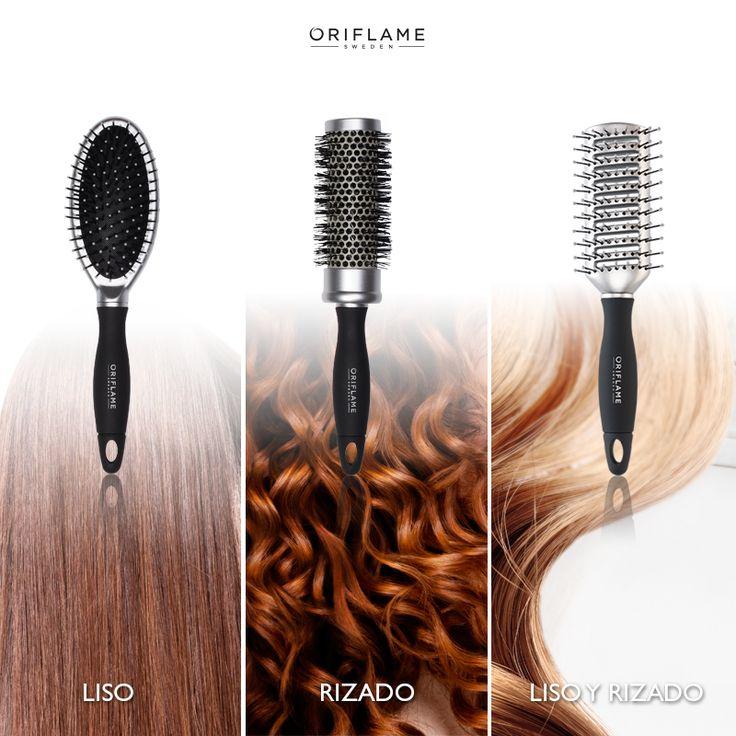 ¡Descubre el mejor cepillo para tu cabello! ¿Cuál es tu favorito? #Cabello #Lacio #Rizado #Peinado