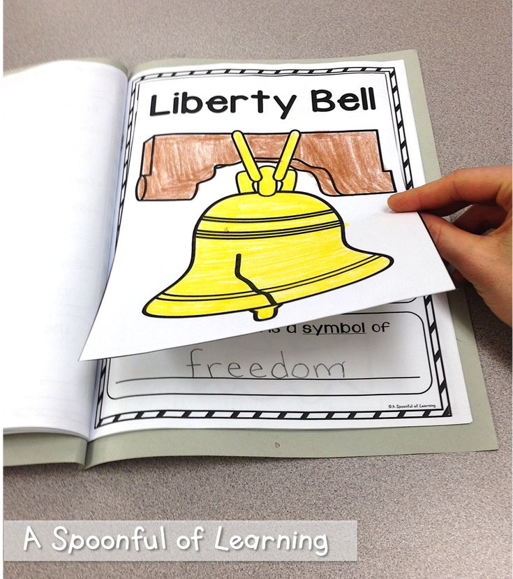 American Symbols Interactive Informational Book, posters, anchor charts, and more