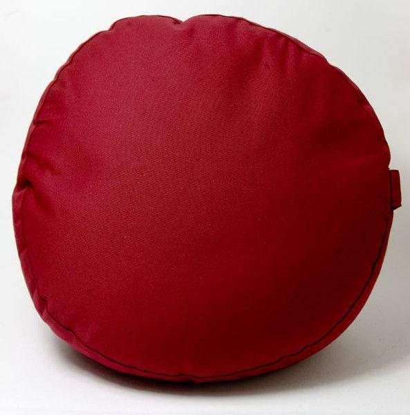 Meditatie kussen<br />bordeaux rood bij Crystal Temptation in Venlo