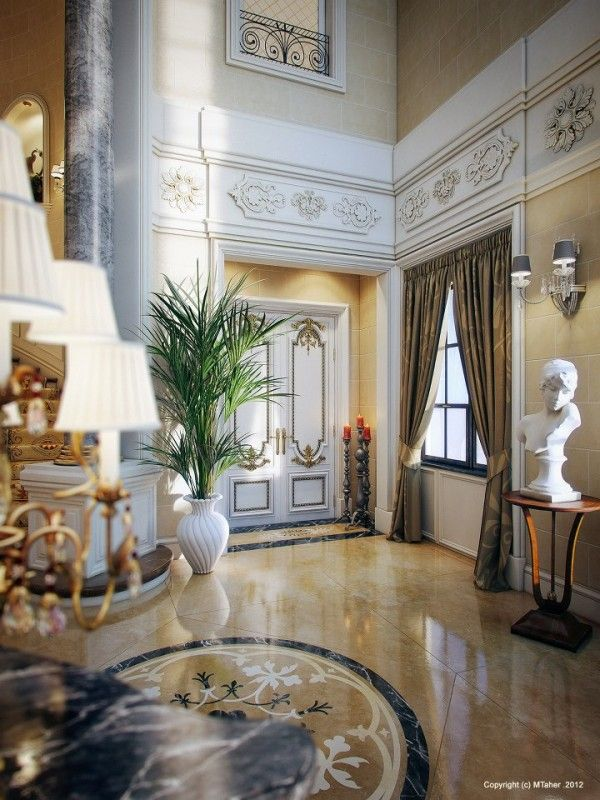 646 best images about marble floor design on pinterest for Victorian villa interior design