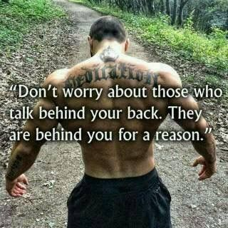 They are Behind You for a Reason