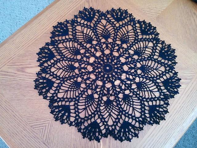 Ravelry: Serenity Doily pattern by Margaret Rost