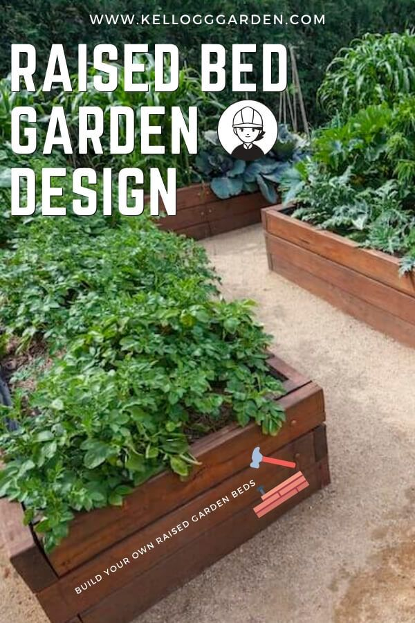 How To Build Your Own Raised Garden Bed In 2020 Raised Garden Beds Garden Beds Organic Raised Garden Beds