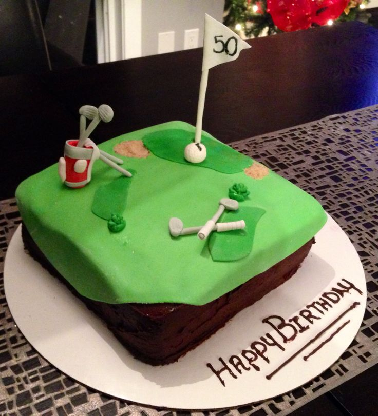 Golf Course Cake Design : Golf birthday cake cake designs Pinterest Golf ...
