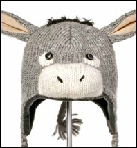 Knitting Pattern For Donkey Hat : View Donkey Animal Knit Hats DIY Headwear Pinterest