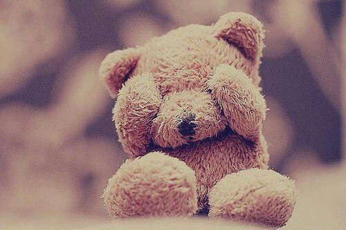 Cute teddy bear!