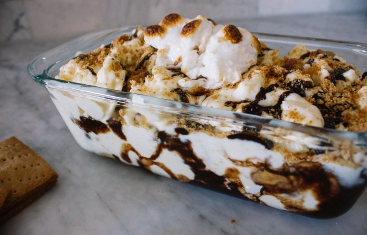 Eat & Watch: Peanut Butter S'mores Ice Cream & The Sandlot - A Dash of Cinema
