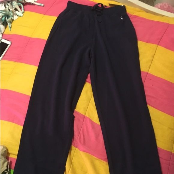 Polo sweatpants Small navy blue polo sweatpants. New with tags. It's a size small in men. Polo by Ralph Lauren Other