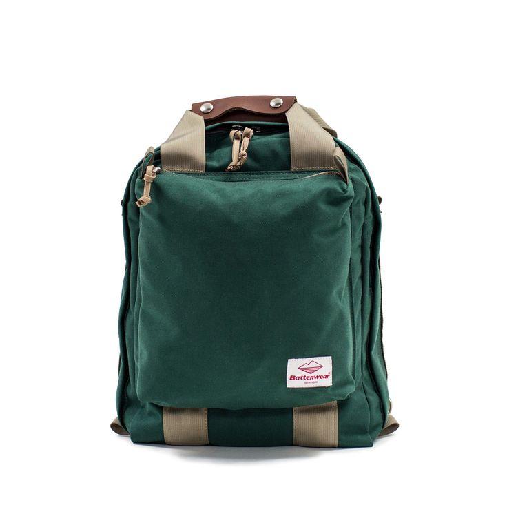 3-Way Commuter Bag, Spruce