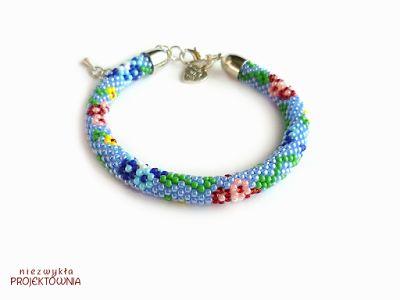 #flower #bracelet #peyote #summergarden #cveti