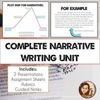 Everything you need to teach narrative writing whether you're teaching personal narratives or fictional narratives!