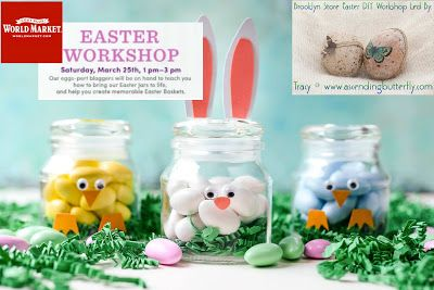ad: This is a compensated campaign brought to you in conjunction with Cost Plus World Market Cost Plus World Market DIY Easter Treat Jars Easter Workshops! Press on me and make me bigger!This Cost Pl