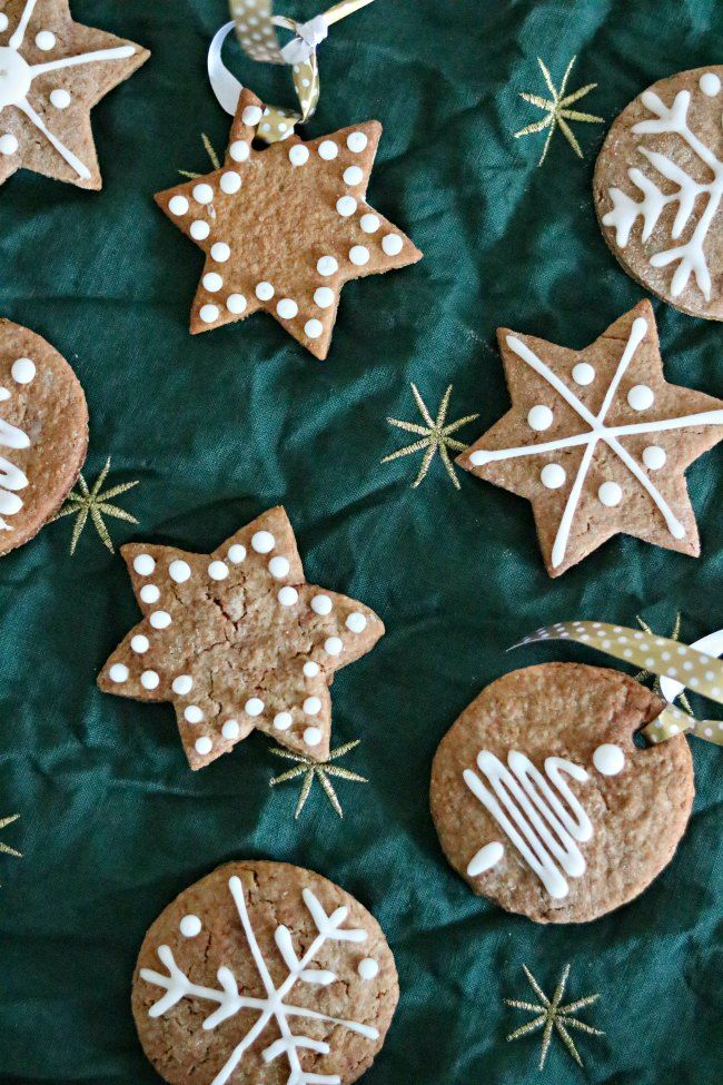 Recept kerstkoekjes maken met kaneel // Christmas cookies with royal icing