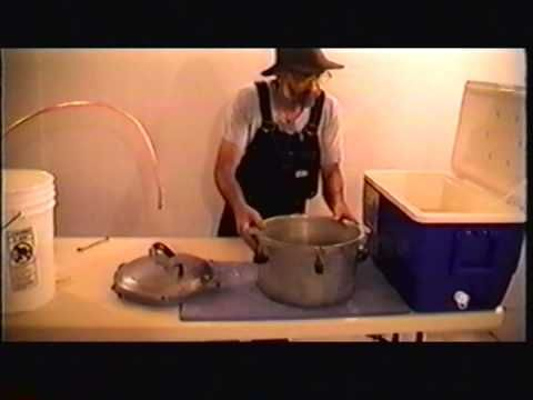 You've seen the TV shows about moonshiners, but they make moonshine in large quantities. This video is the easy way to make a small batch of moonshine in you...