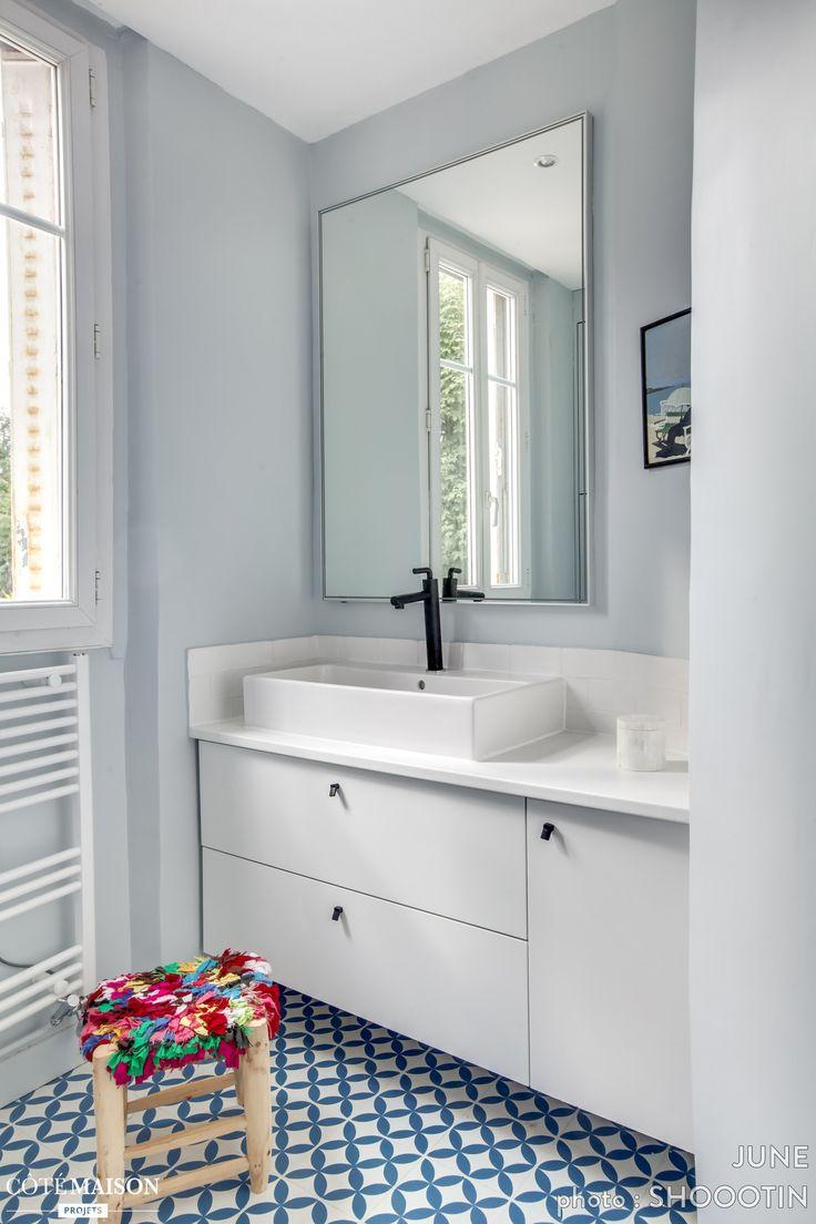 2366 best salle de bains images on pinterest bathroom ideas room and bathroom inspiration. Black Bedroom Furniture Sets. Home Design Ideas