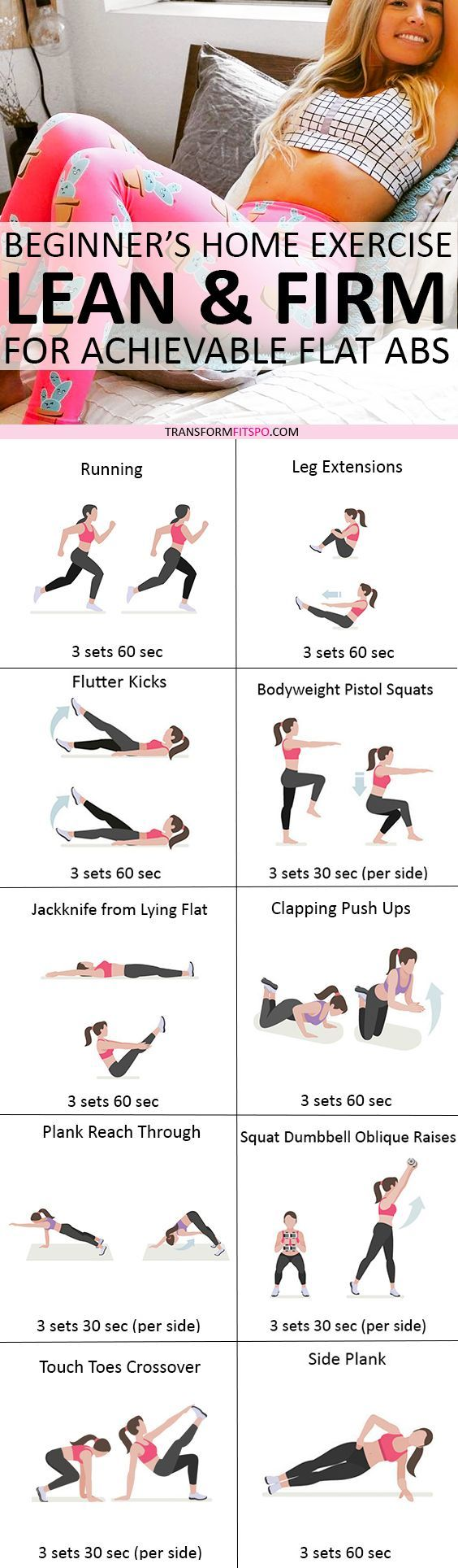 Repin and share if this workout was amazing for your abs! Read the post for all the info!
