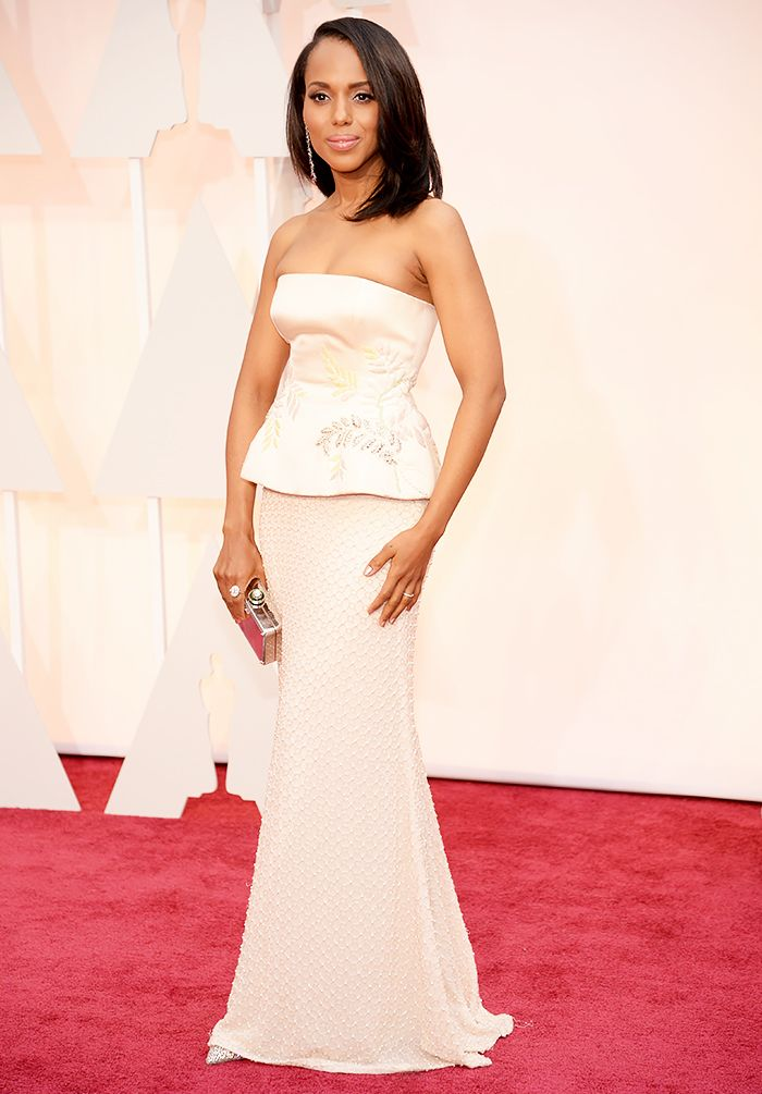 Kerry Washington in Miu Miu 2015 Oscars